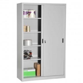 Vue d'ensemble de l'armoire porte coulissante H195cm gamme budget porte ouverte avec accessoires