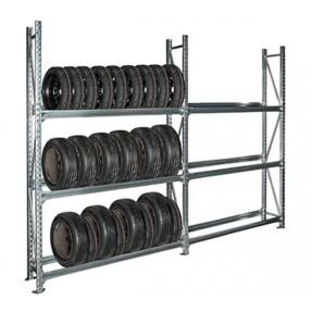 Vue d'ensemble du rack à pneus 450kg