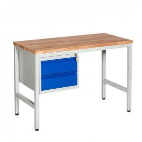 Etabli d'atelier professionnel 2 tiroir