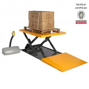 table élévatrice electrique extraplate 1000 kg
