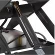 zoom de la pompe de la table elevatrice electrique capacité 1000 kg  plateau 1300x1000 mm