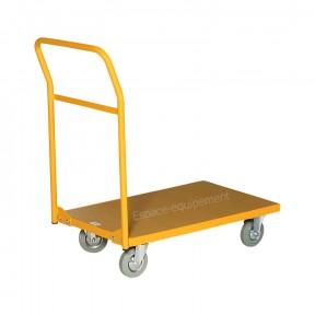 chariot 1 plateau bois vue avant